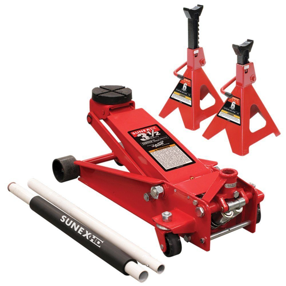 Sunex 66037jpk Service Jack Automotive Trailer Accessories Floor Jack Floor Jacks