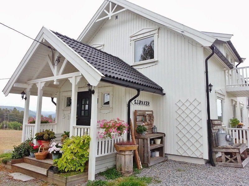 дом на даче в скандинавском стиле фото если