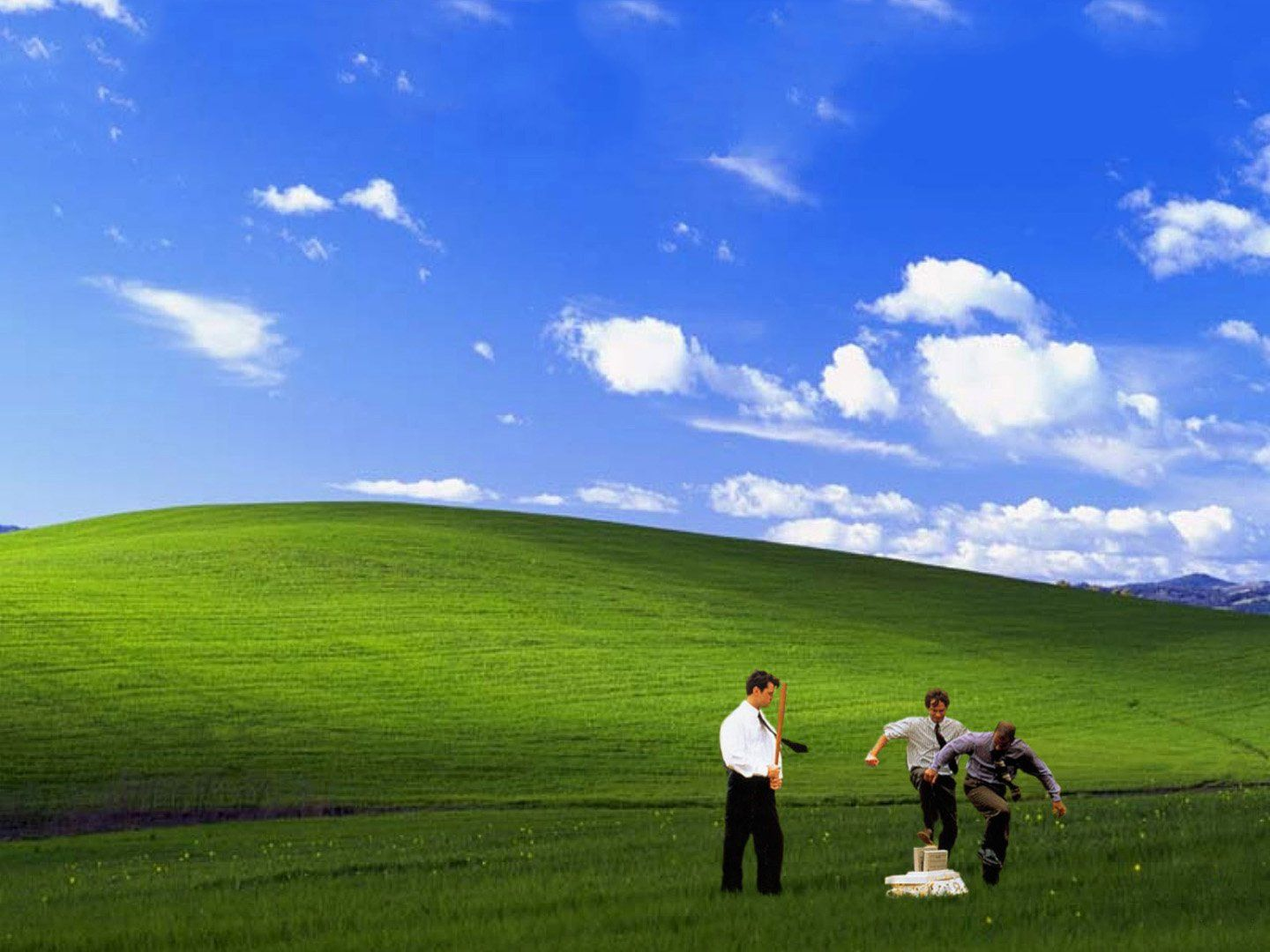 Good Use Of The Windows Xp Wallpaper Office Space Office Space Movie Gifs
