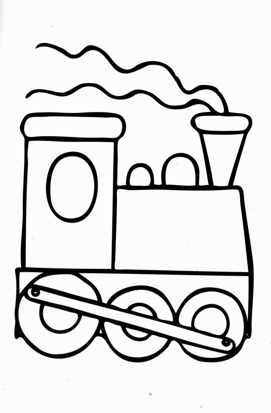 Dorable Tren Para Colorear Hojas Regalo - Ideas Para Colorear ...