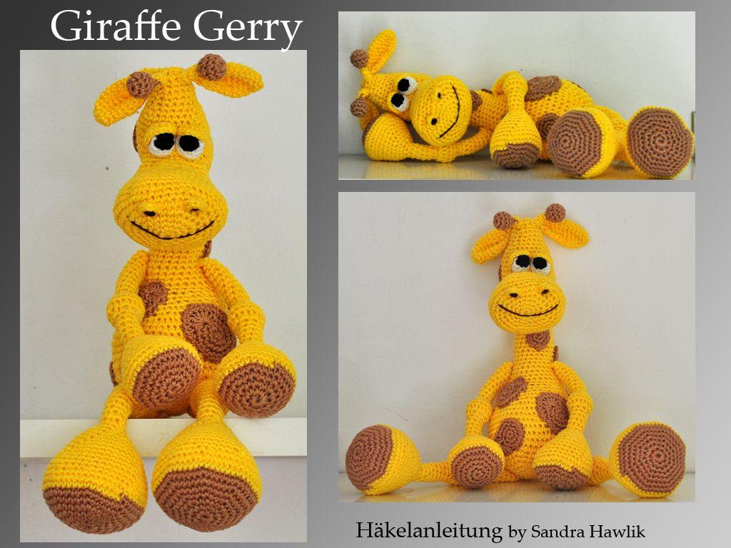 Häkelanleitung Diy Giraffe Gerry Ebook Pdf Deutsch Oder