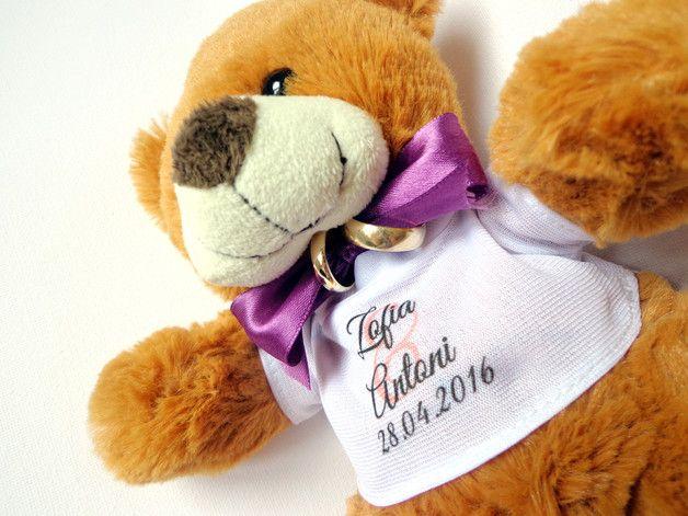 Pluszowy Mis Na Obraczki Olborska Poduszeczki Na Obraczki Teddy Bear For Ringbearer Winter Hats Hats Winter