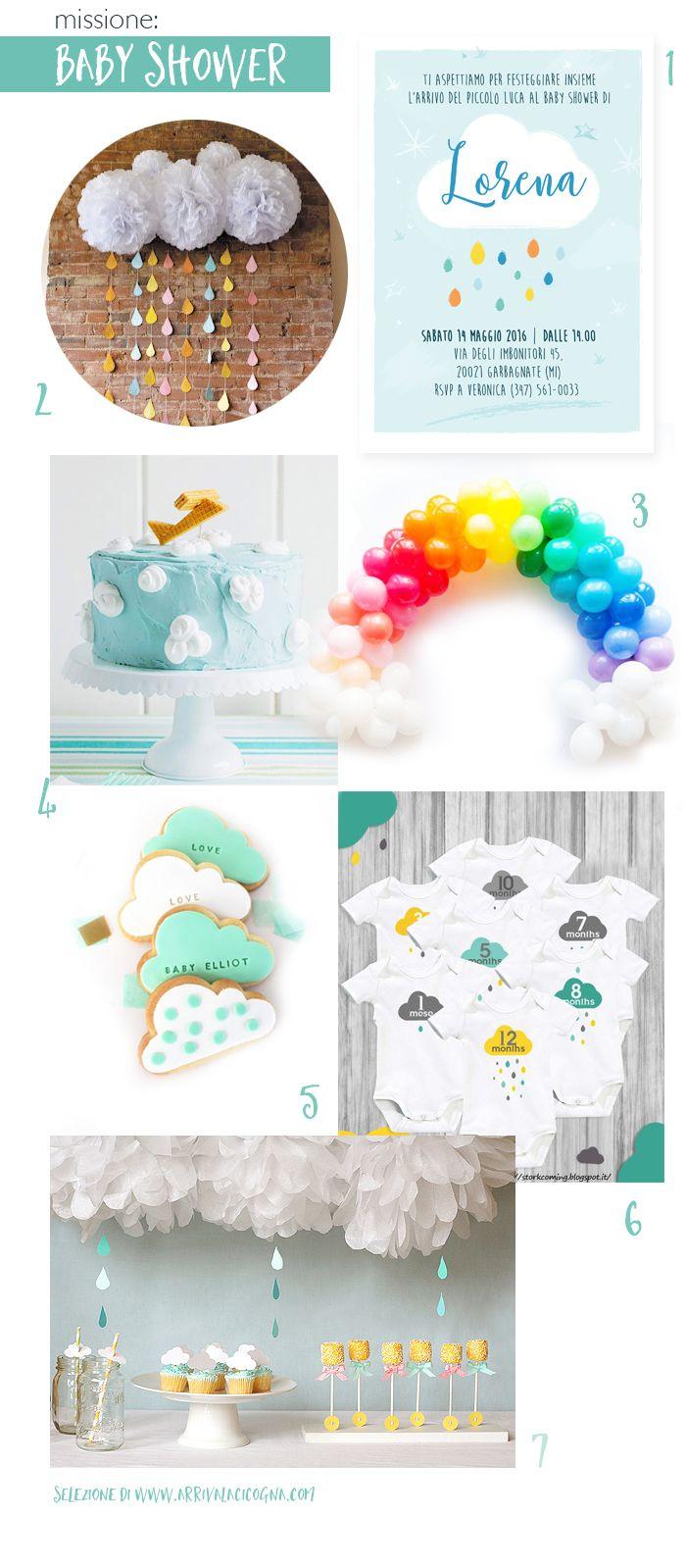 Arriva la cicogna: Come organizzare il Baby Shower perfetto: 7 idee c...