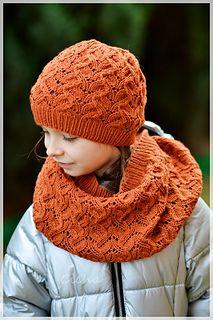 Copper Gazania Infinity Scarf: http://www.ravelry.com/patterns/library/copper-gazania-infinity-scarf