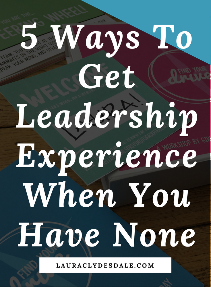how to describe leadership experience