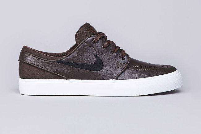 Nike SB Stefan Janoski Leather Baroque Brown / Black | MATÉRIA:estilo