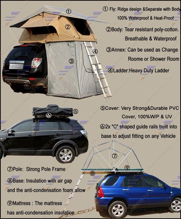 Off Road Car Roof Top Tent | AutoC& | Pinterest | Roof top tent Roof top and Car tent & Off Road Car Roof Top Tent | AutoCamp | Pinterest | Roof top tent ...