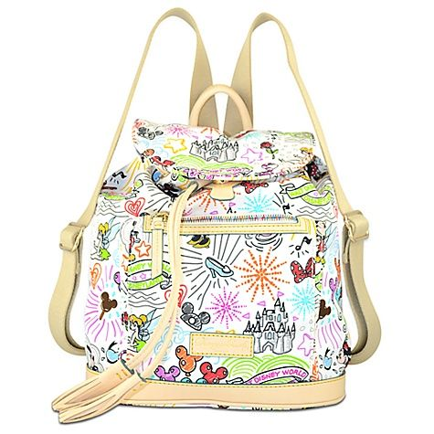 Disney Sketch Backpack By Dooney Bourke I Need Thisss