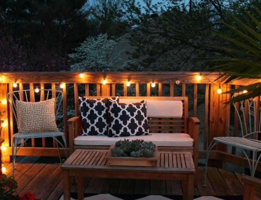 49 Awesome Patio Yard String Lights Ideas