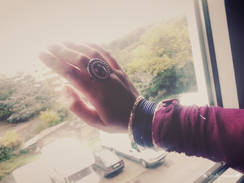 ring n rain http://eeryjewelry.com/ #bangle  ring