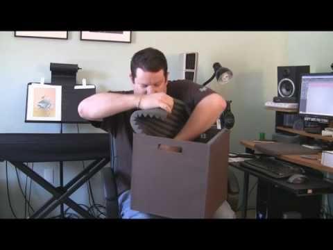 (13) DIY Microphone Isolation Box YouTube