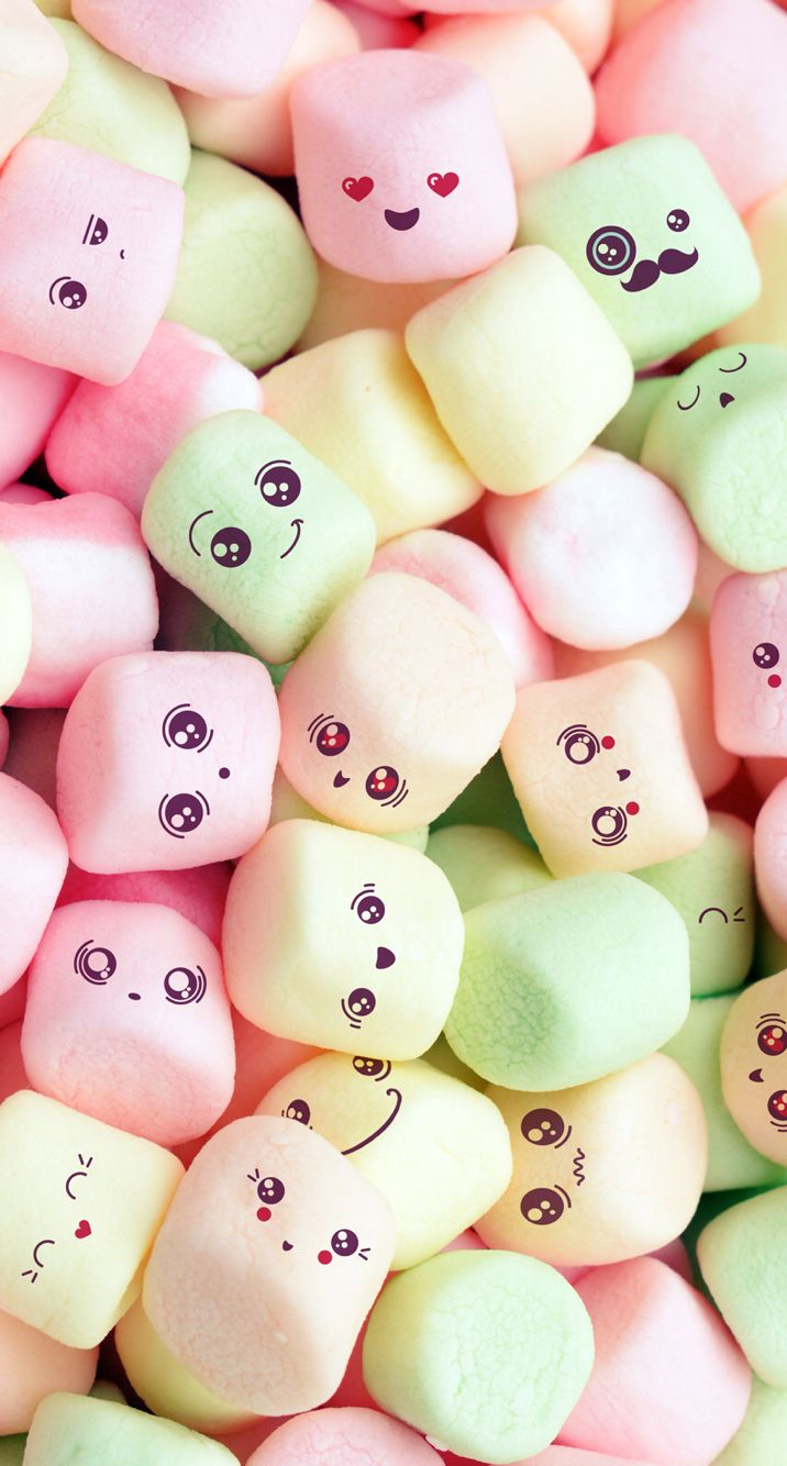 Lovely marshmallow Phone Pinterest Marshmallow and Wallpaper