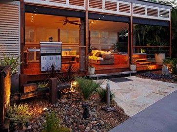 Outdoor Living - Enclosed Patio, Porch or Deck tropical exterior