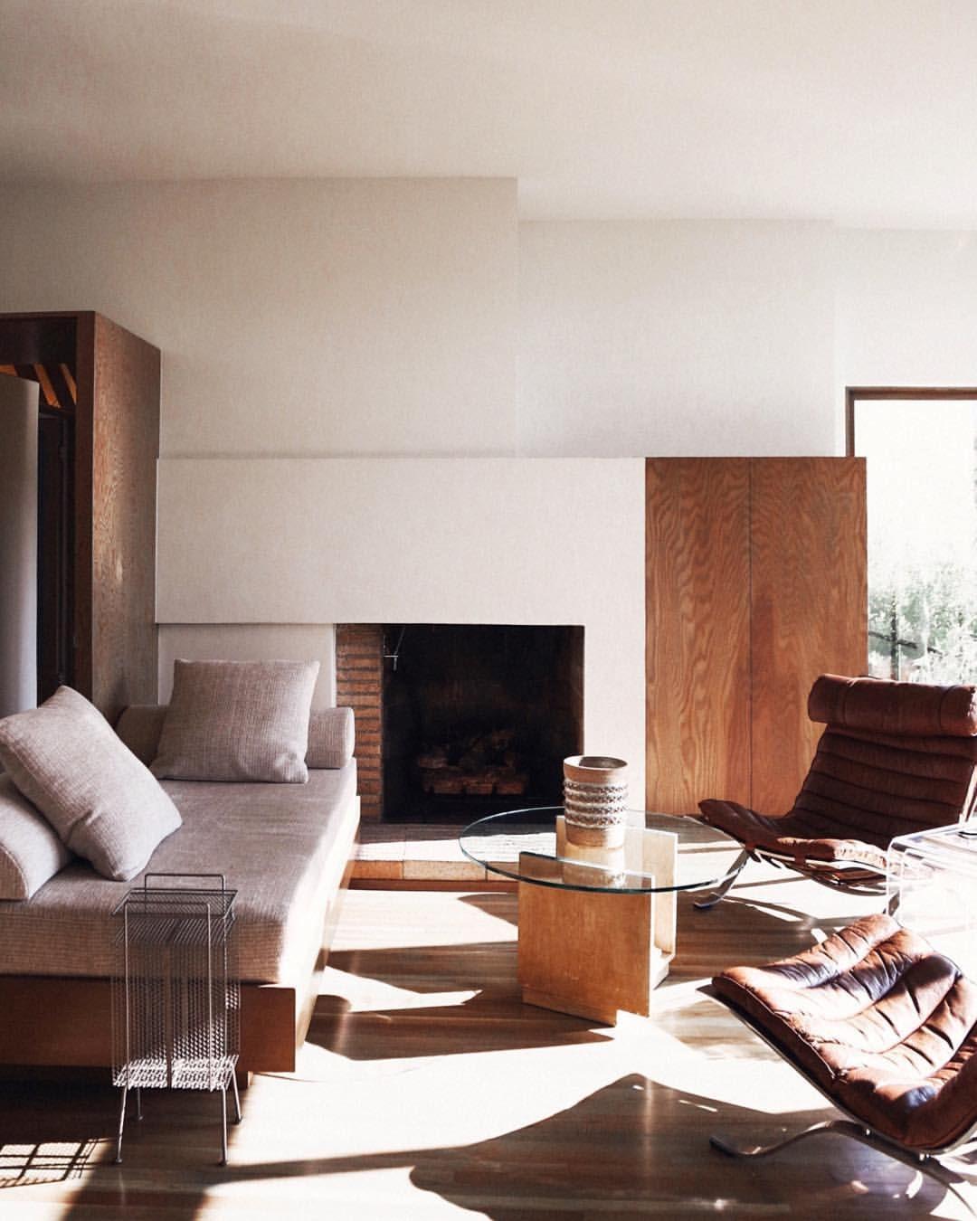 Mid century modern is the most popular interior