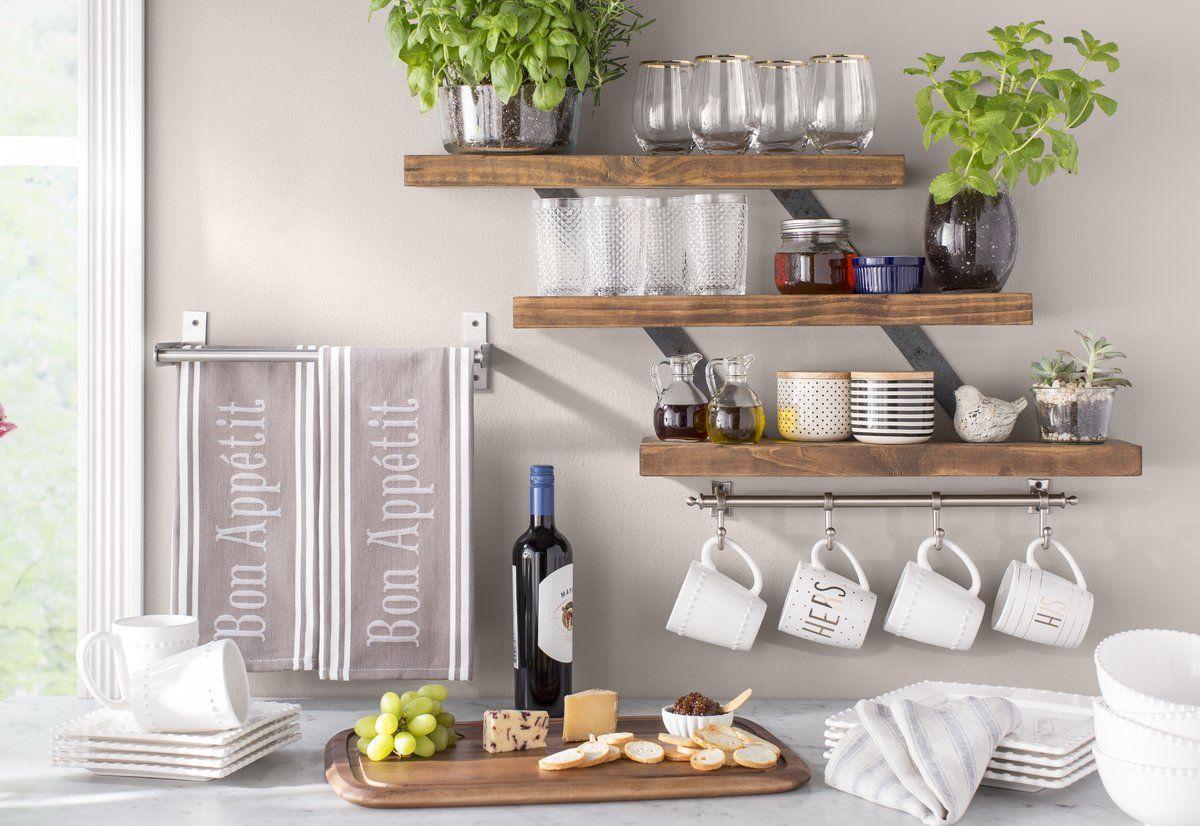Best Gracie Oaks Pratik Industrial 3 Tier Wall Shelf Reviews 400 x 300