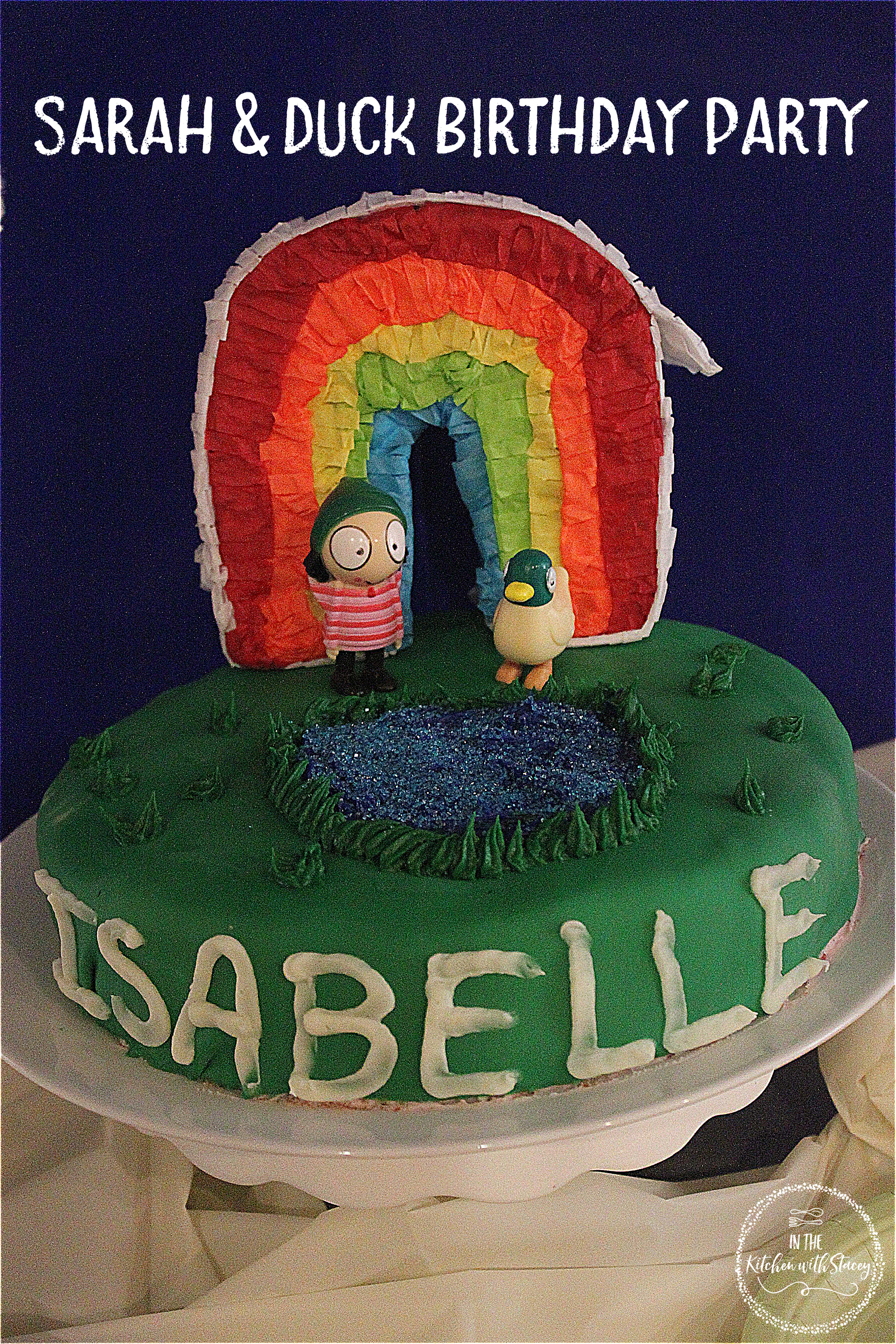Sarah Duck Birthday Party In The Kitchen With Stacey Duck Birthday Sarah Duck Duck Cake