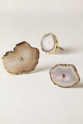 For The Office: Sometimes A Simple Knob Update On Furniture Is All It Takes  To Change The Whole Look. I Can See These Swirled Geode Knobs On A Cabinet  Or On ...