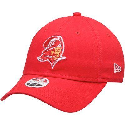 28de926de Women's New Era Red Tampa Bay Buccaneers Throwback Core Classic 9TWENTY Adjustable  Hat