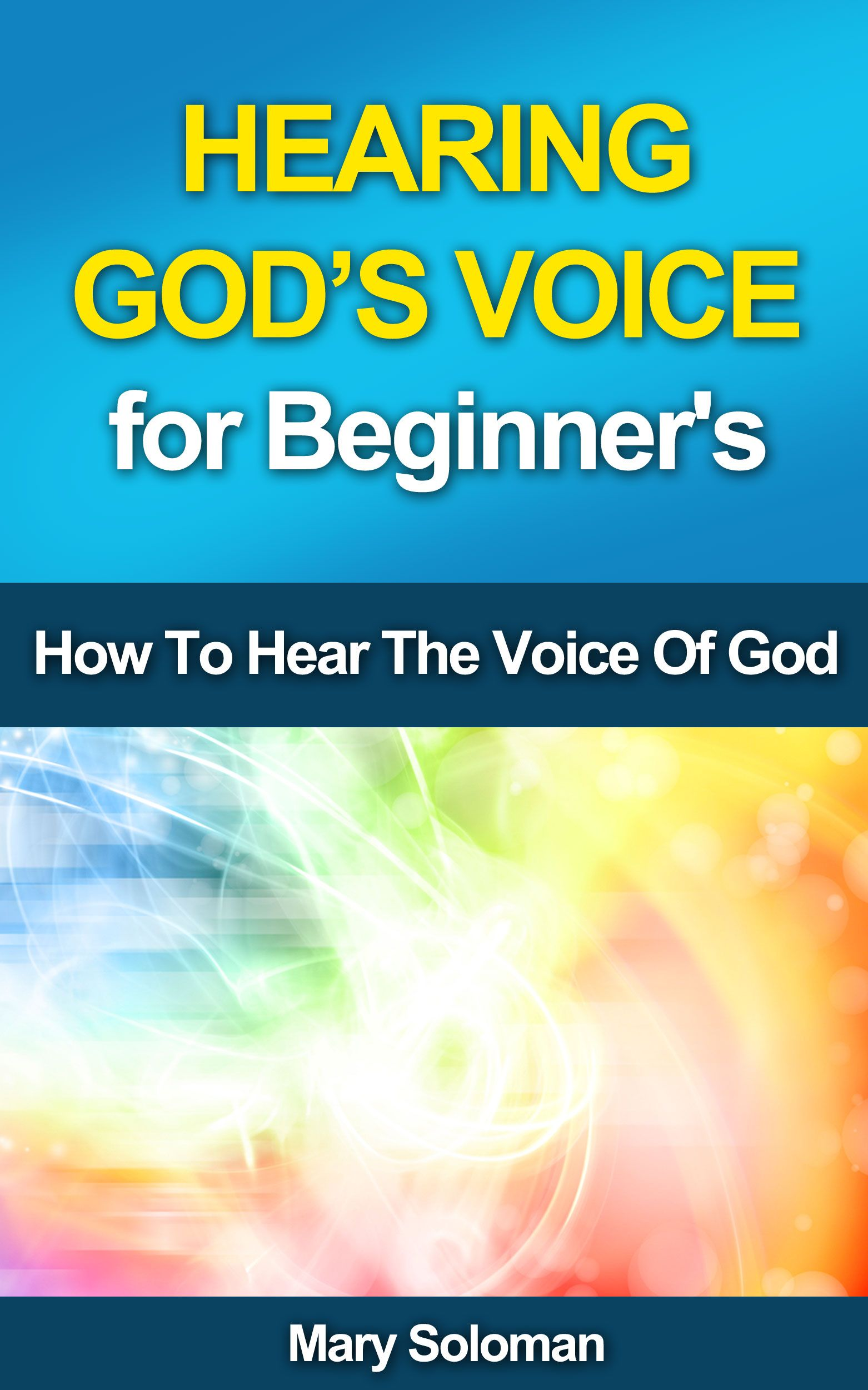Free book hearing god s voice for beginner s how to hear