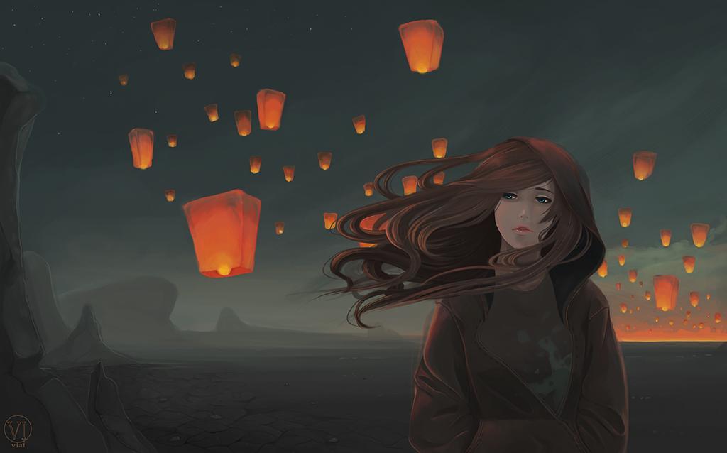 Lanterns by vi-ai.deviantart.com on @DeviantArt