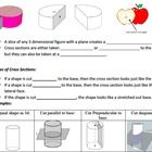 Cross Sections Powerpoint And Worksheet 7 G A 3 With Images