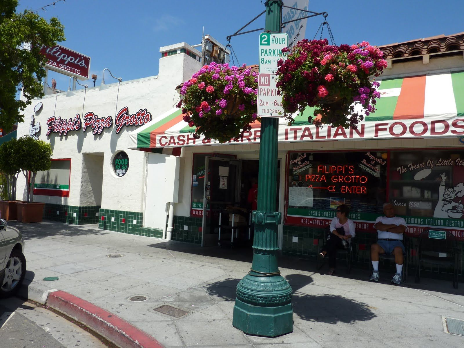 Filippo S Italian Restaurant Little Italy San Diego Ca