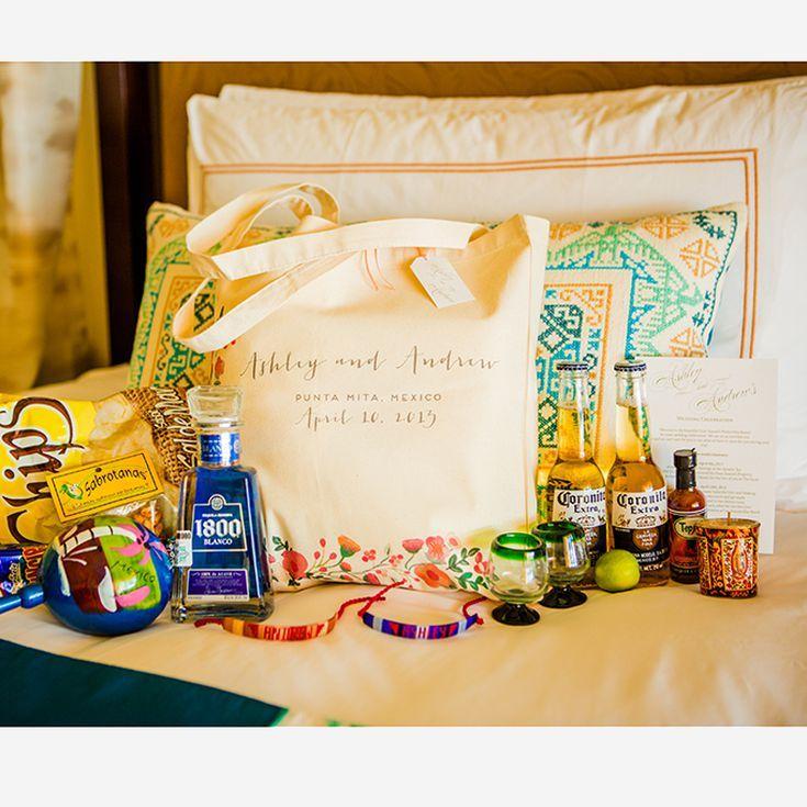 Destination Wedding Gift Ideas: 19 Creative Wedding Welcome Bag Ideas