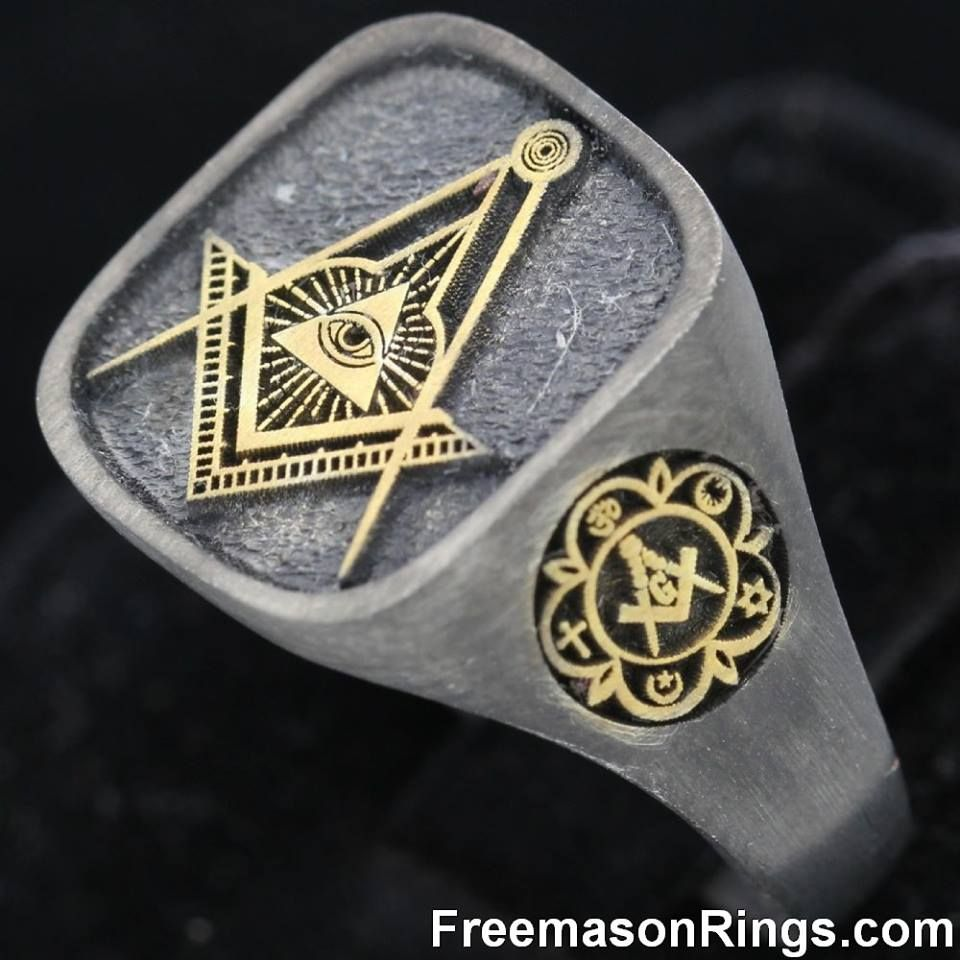 model stl masonic obj printing models for freemason jewelry print rings skull freemasons ring