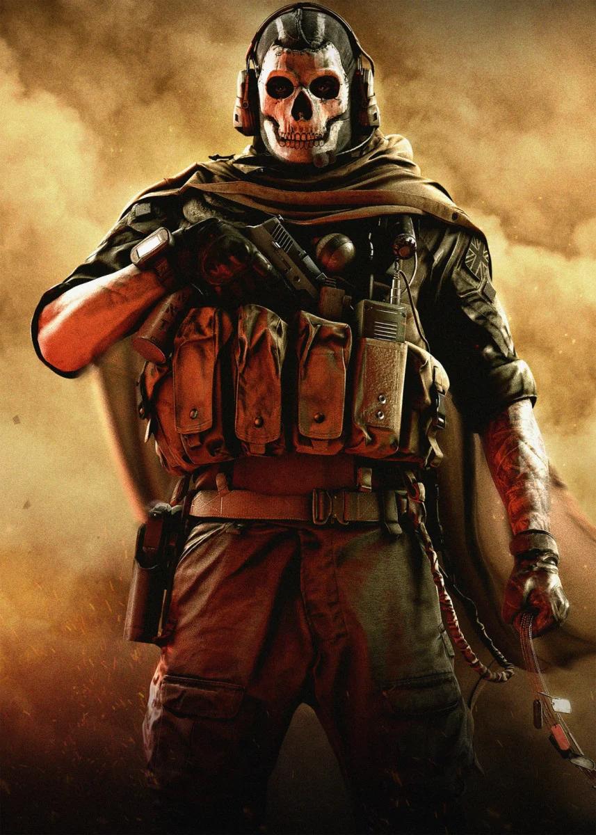 Call Of Duty Metal Poster Kokomi Studio Displate Call Of Duty Zombies Modern Warfare Call Of Duty