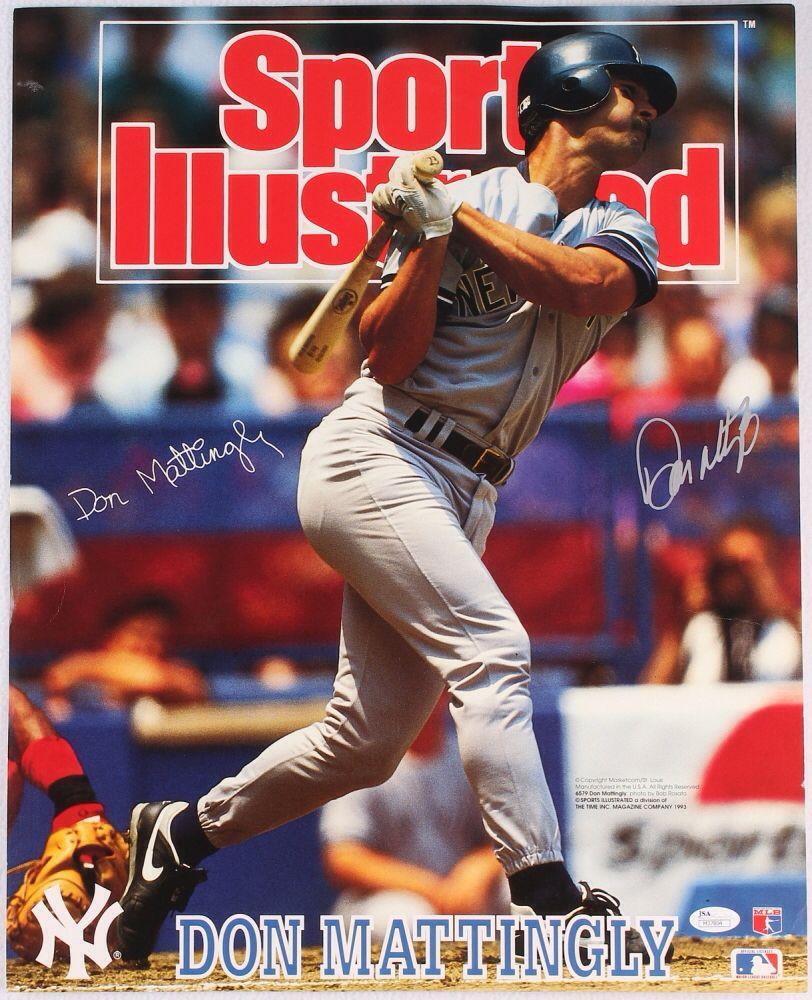 Don Mattingly On Sports Illustrated Don Mattingly Sports New York Yankees