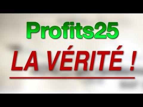 Profits25 Profits25 Avis Forum Com Seo Marketing Internet Marketing Marketing