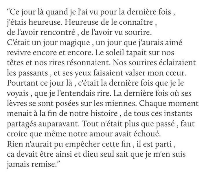 Texte Amour Triste Cœur Brisé Belles Citations Citation