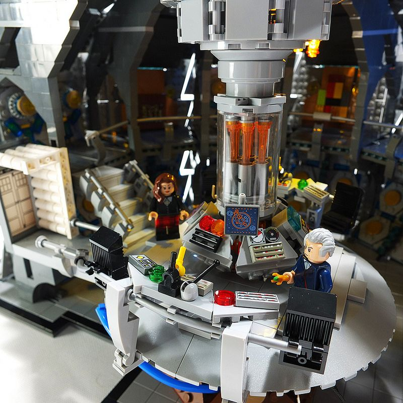 Lego Doctor Who The Twelfth Doctors Tardis Interior Series 9