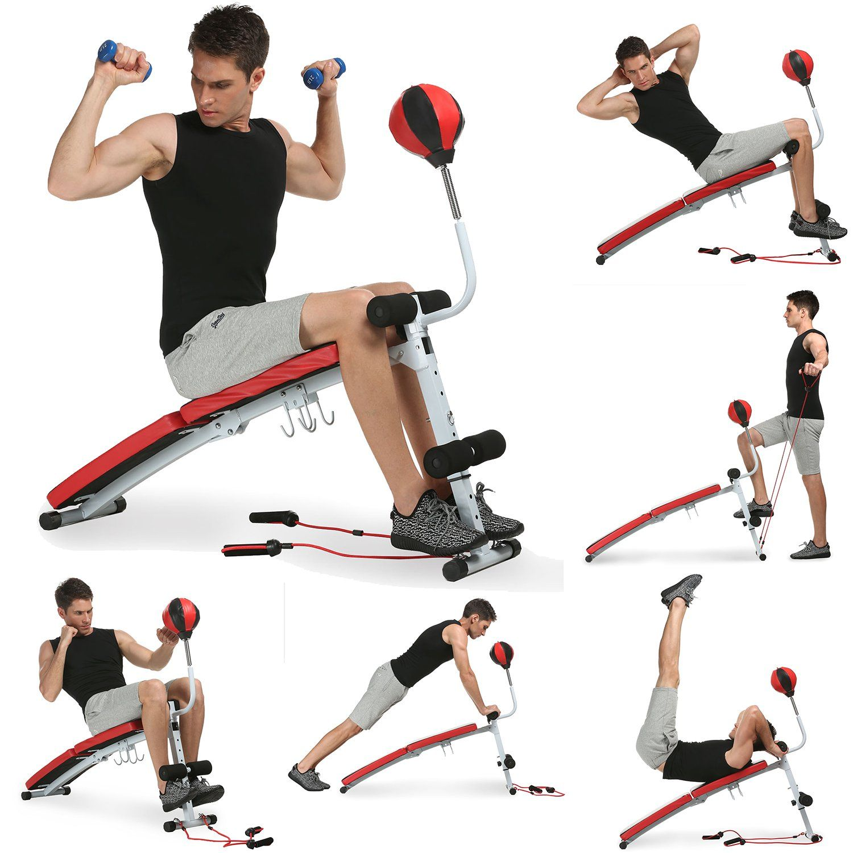 Oanon Adjustable Sit Up Bench Slant Board Ab Bench Workout