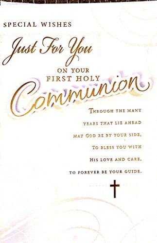 Pin by The Big Card Company on First Holy Communion ...