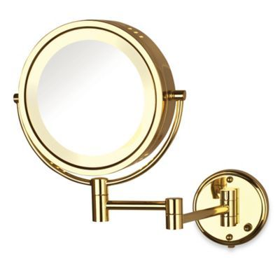 Buy Jerdon 8x 1x Fog Free Lighted Wall Mount Mirror In