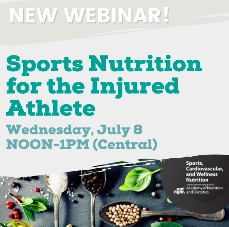 Let S Kick Off Our July Webinars With A Super Useful Session Registration Is Still Open Link In Profile For This Webinar W Sports Nutrition Athlete Webinar