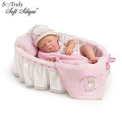So Truly Real Babies | ... Goodnight So Truly Real Baby Doll by Ashton Drake Baby Doll Set NRFB