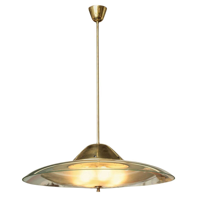 Fontana arte chandelier made in milan pendant lighting