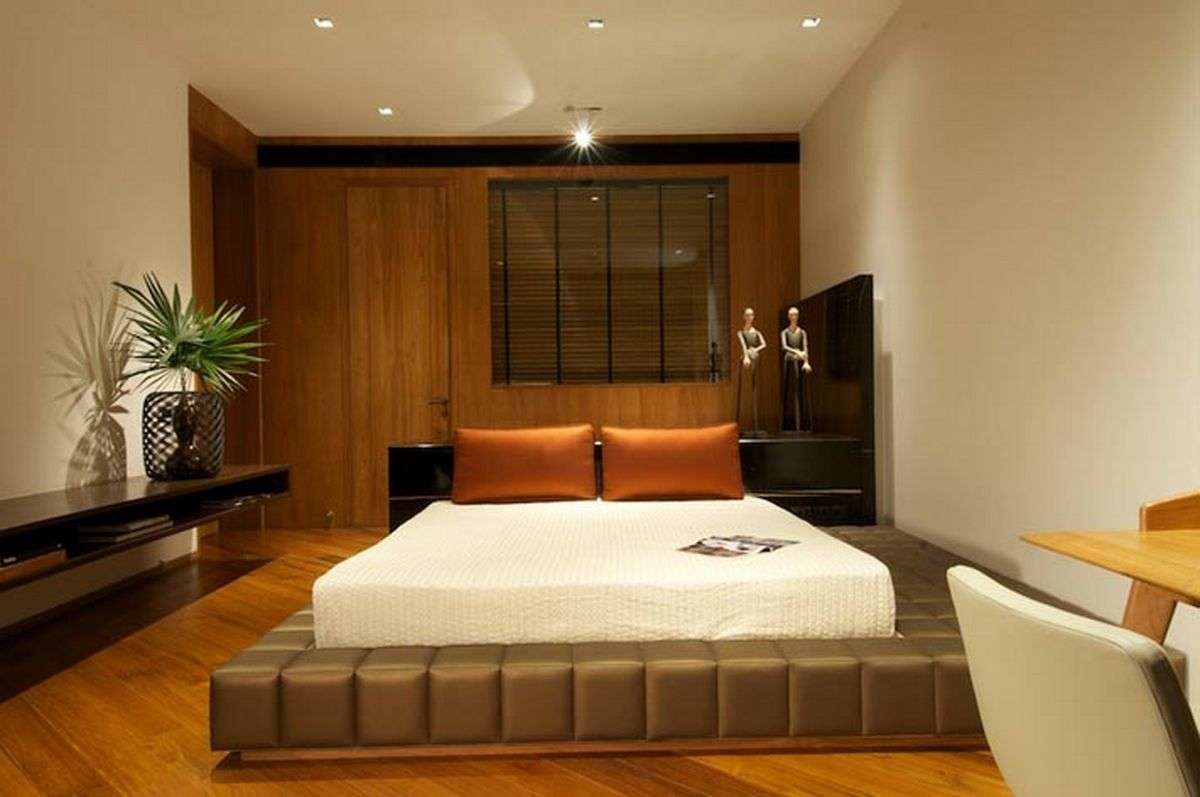 A cool assortment of master bedroom interior designs for Simple and sober bedroom designs