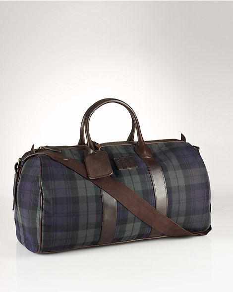 aeade6084aab Blackwatch Oilcloth Duffel - Travel Bags Bags   Business Accessories -  RalphLauren.com · OilclothWeekenderPolo ...