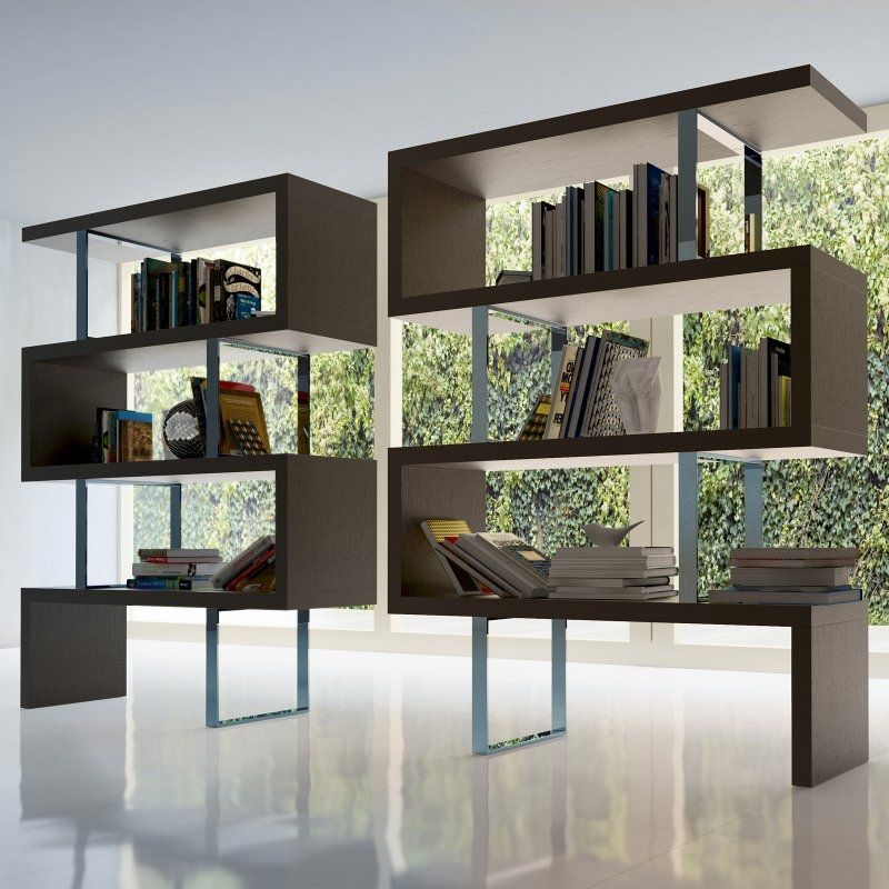 Divide Conquer With Artistic Screens Modern Room Divider Bookshelves In Living Room Living Room Divider #room #dividers #living #room
