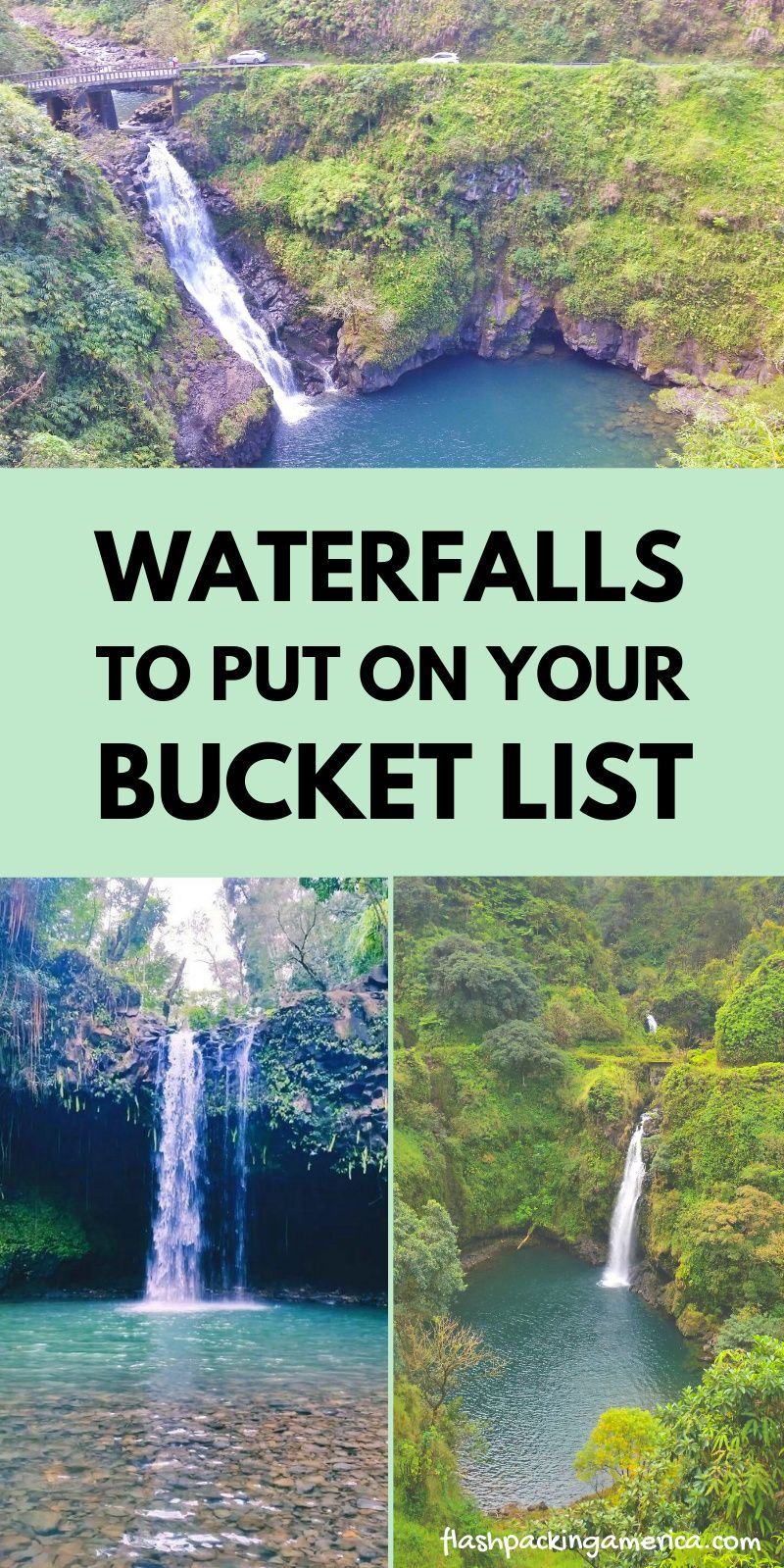 Some amazing waterfalls to put on your bucket list