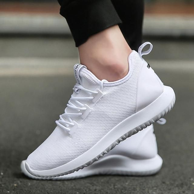 Mens Casual Breathable Sports Mesh Sneakers Athletic Running Shoes Trainers Hot