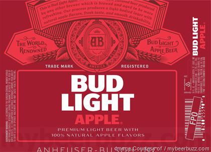 Pin By Mybeer Buzz On Mybeerbuzz Bud Light Light Beer Apple