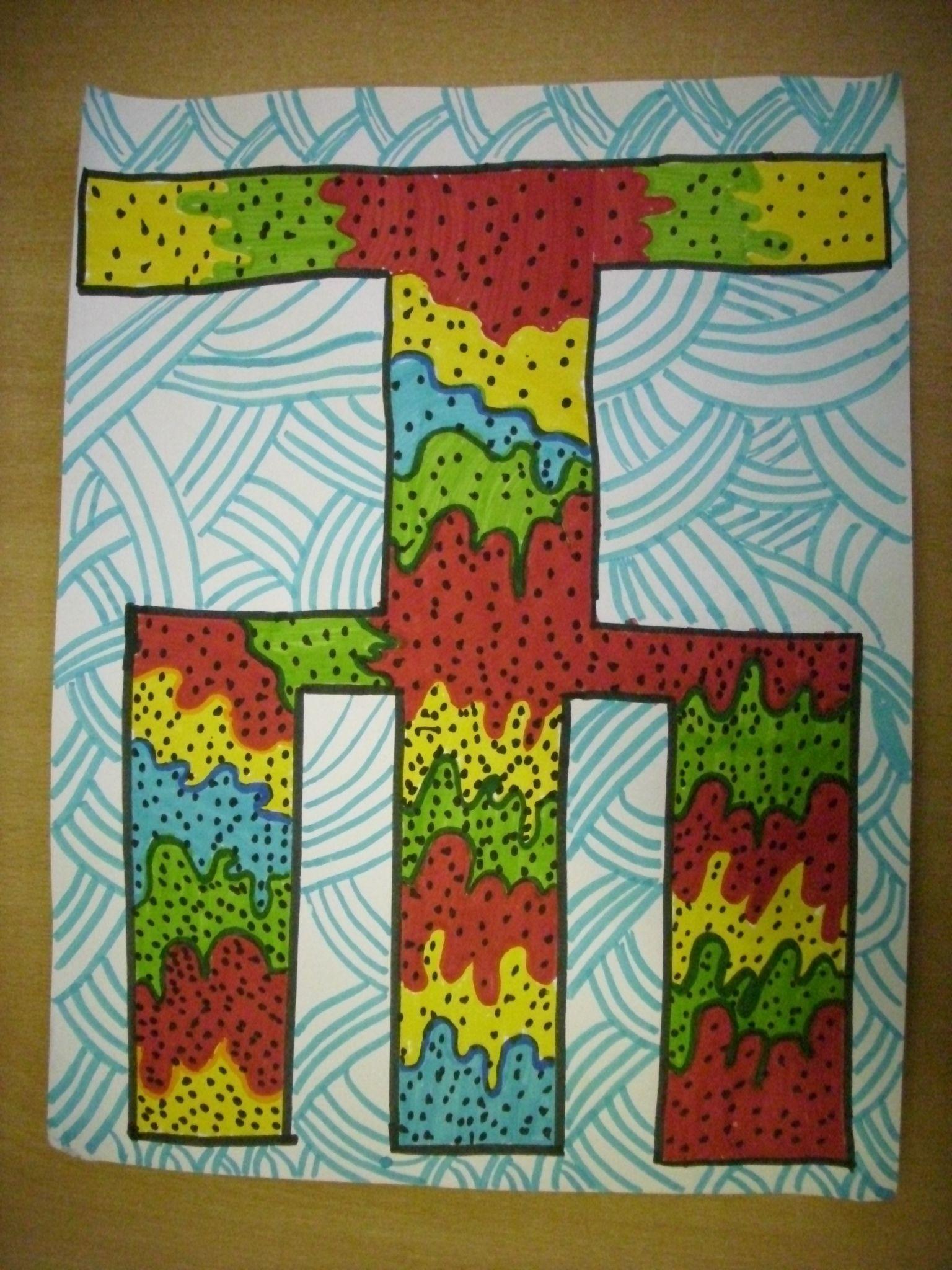 Glagoljica, 4.r. | Likovni radovi | Pinterest