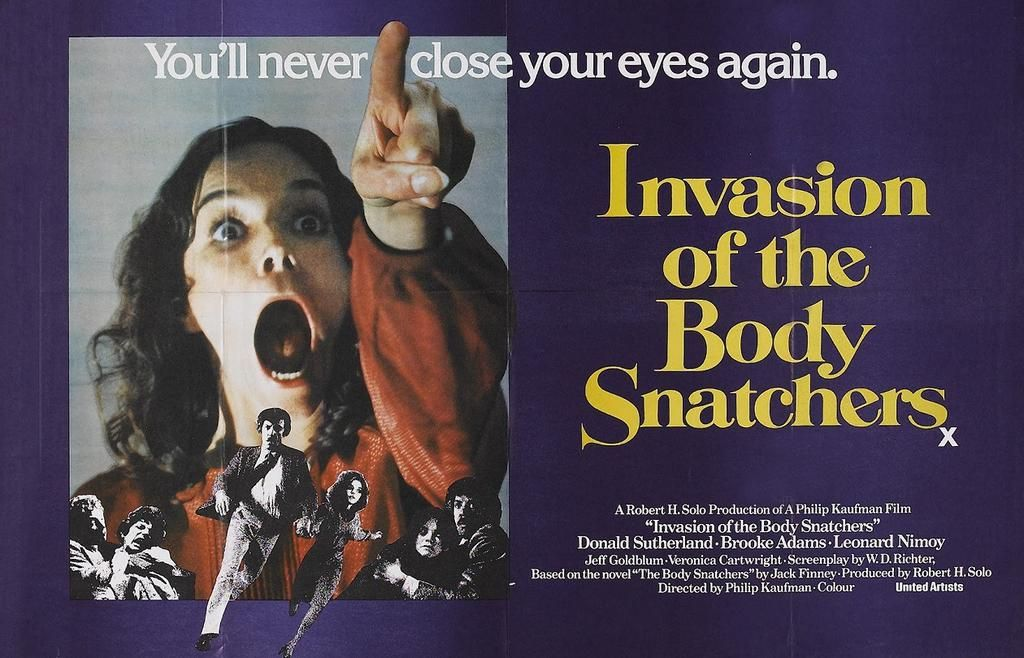 "Invasion of the Body Snatchers (1978)-"" Why not a space flower? Why do we always expect metal ships?"" #horror #scifi"