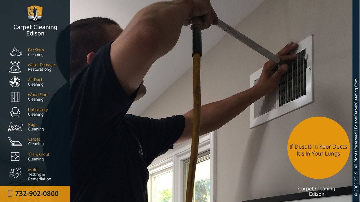 Air Duct Cleaning Carpet Cleaning Edison (732) 902