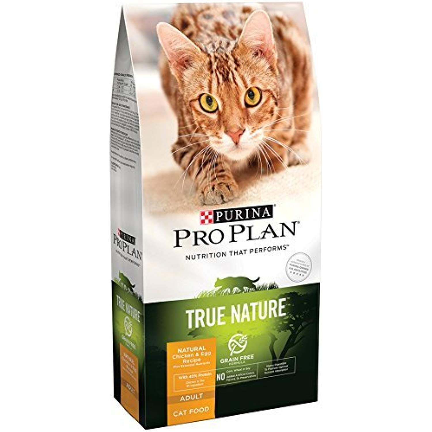 Purina Pro Plan Dry Cat Food True Nature Grain Free Formula Chicken And Egg Recipe 6 Pound By Purina Pro Plan Chec Dry Cat Food Purina Pro Plan Cat Food