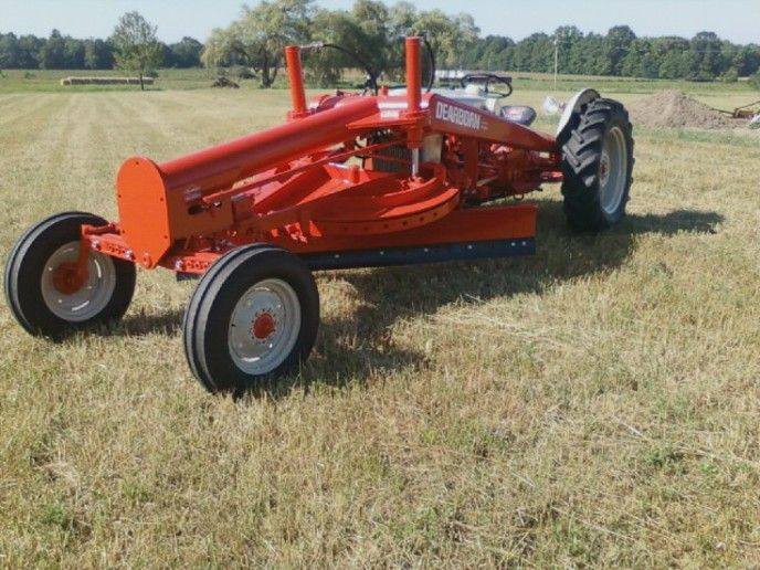 8n Ford Attachments : Ford n tractor attachments jubilee with dearborn road